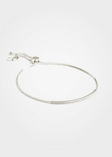 Ann Taylor Pave Bar Slider Bracelet
