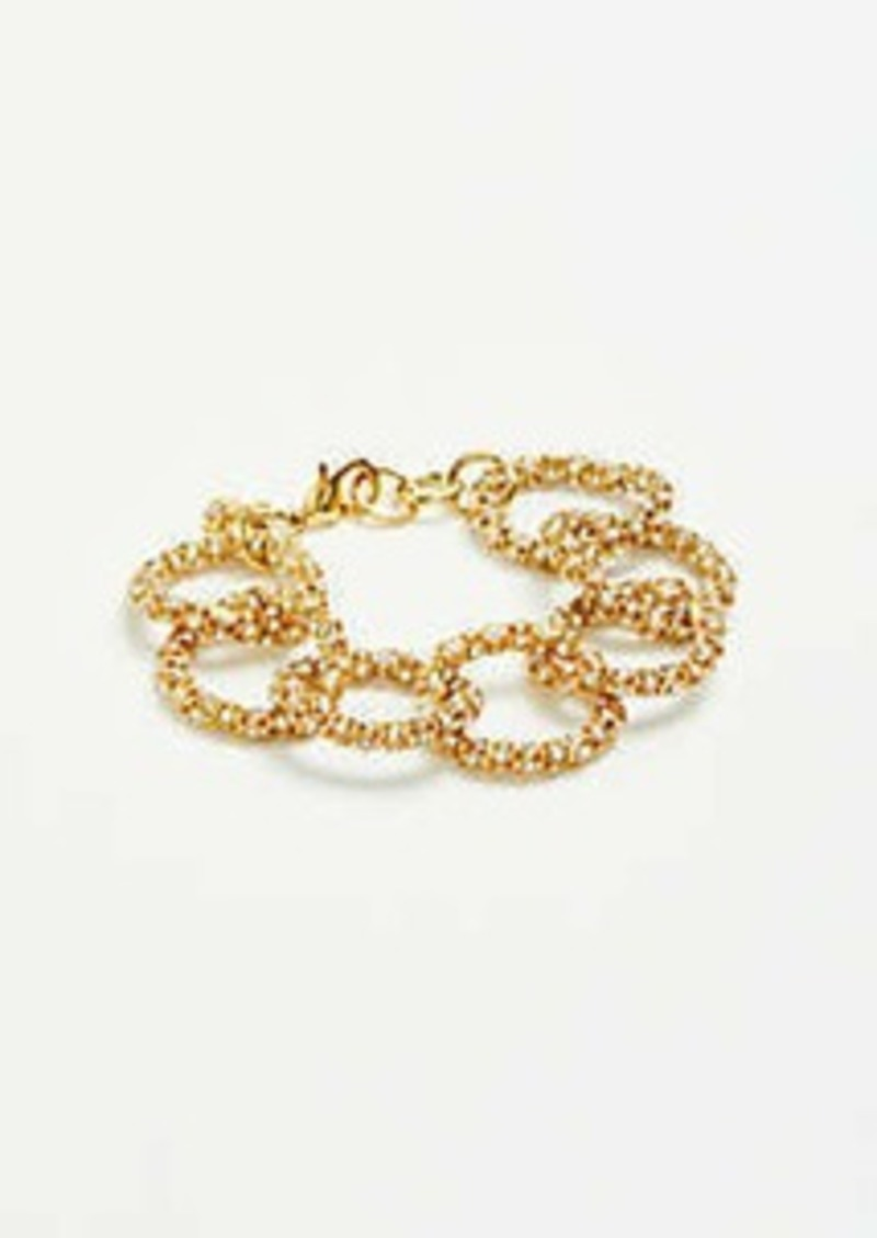 Ann Taylor Pave Chain Bracelet