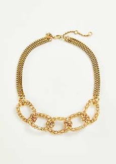 Ann Taylor Pave Chain Necklace
