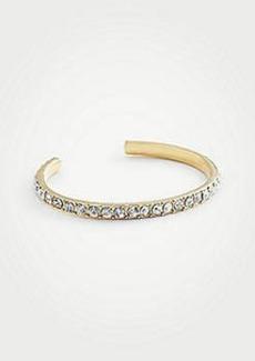 Ann Taylor Pave Cuff Bracelet