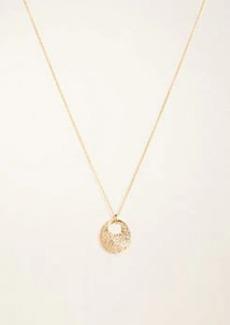 Ann Taylor Pave Nugget Pendant Necklace