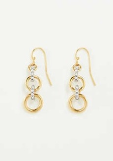 Ann Taylor Pave Rondelle Earrings
