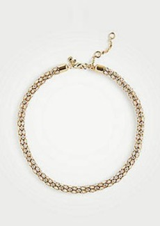 Ann Taylor Pave Wrapped Necklace