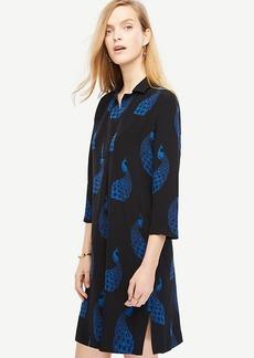 Peacock Shift Dress