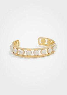 Ann Taylor Pearlized Cuff Bracelet