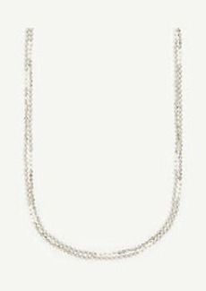 Ann Taylor Pearlized Layering Necklace