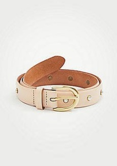 Ann Taylor Pearlized Studded Belt