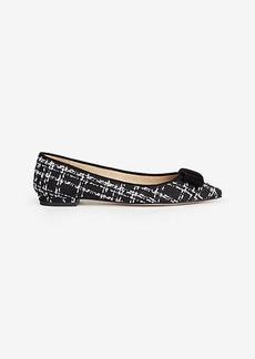 Penelope Tweed Bow Flats
