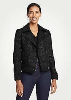 Ann Taylor Peplum Moto Jacket