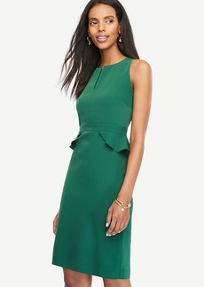 Peplum Sheath Dress