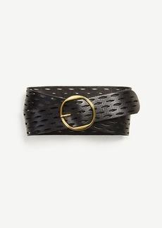 Ann Taylor Perforated Belt