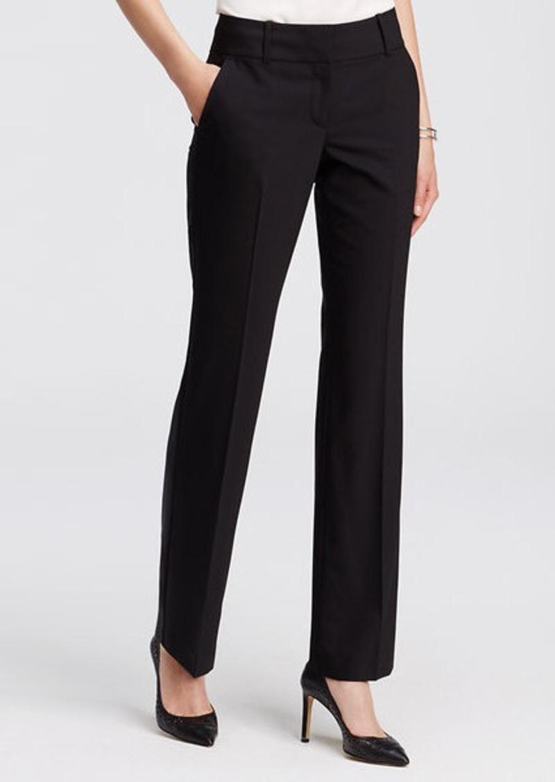 Ann Taylor Petite Ann Tropical Wool Trousers