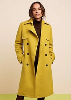 Ann Taylor Petite Belted Trench Coat