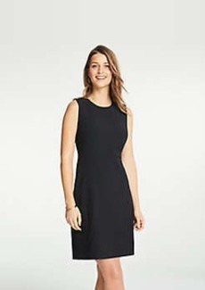 Ann Taylor Petite Bi-Stretch Flare Dress