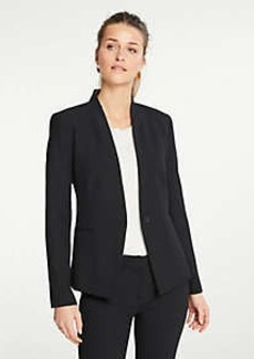 Ann Taylor The Petite Cutaway Blazer in Bi-Stretch