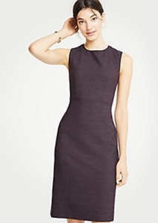 Ann Taylor Petite Birdseye Sheath Dress