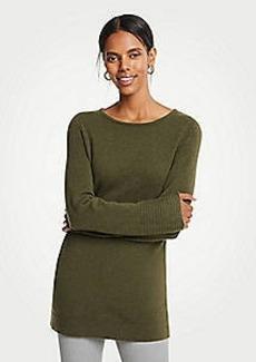 Ann Taylor Petite Boatneck Tunic Sweater