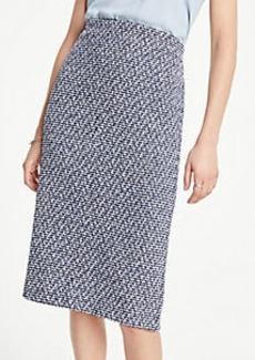Ann Taylor Petite Boucle Pencil Skirt