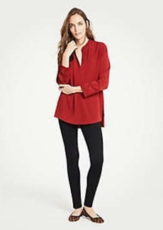 Ann Taylor Petite Button Ponte Leggings