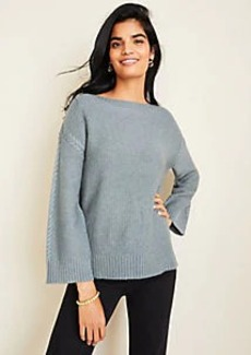 Ann Taylor Petite Cable Stitched Sweater