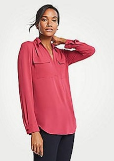 Ann Taylor Petite Camp Shirt