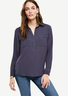 Petite Camp Shirt