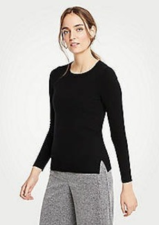 Ann Taylor Petite Cashmere Crew Neck Sweater