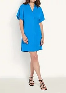 Ann Taylor Petite Collared Popover Shift Dress
