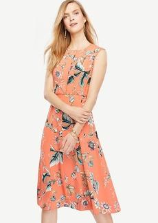 Petite Coral Oasis Dress