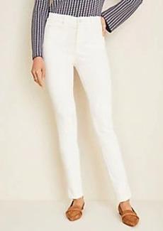 Ann Taylor Petite Corduroy Welt Pocket Skinny Pants