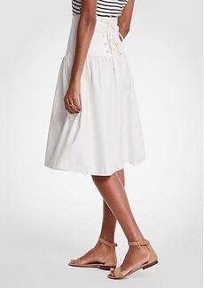 Ann Taylor Petite Corset Full Skirt