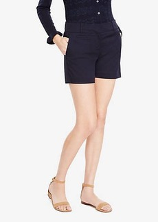 Ann Taylor Petite Cotton Metro Shorts