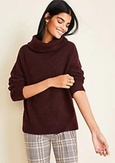 Ann Taylor Petite Cowl Neck Sweater