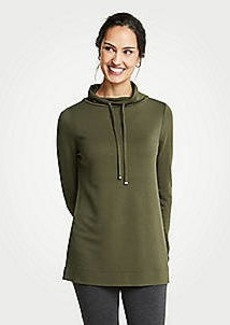 Ann Taylor Petite Cowl Neck Sweatshirt