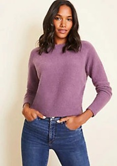 Ann Taylor Petite Cozy Crew Neck Sweater