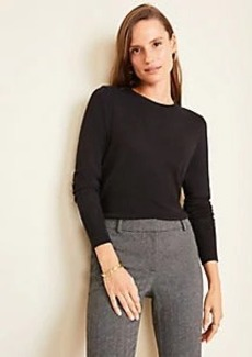 Ann Taylor Petite Crew Neck Sweater