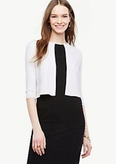 Ann Taylor Petite Cropped Cardigan