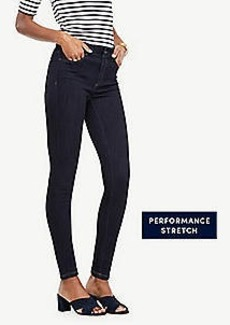 Ann Taylor Petite Curvy Performance Stretch Skinny Jeans in Evening Sea Wash
