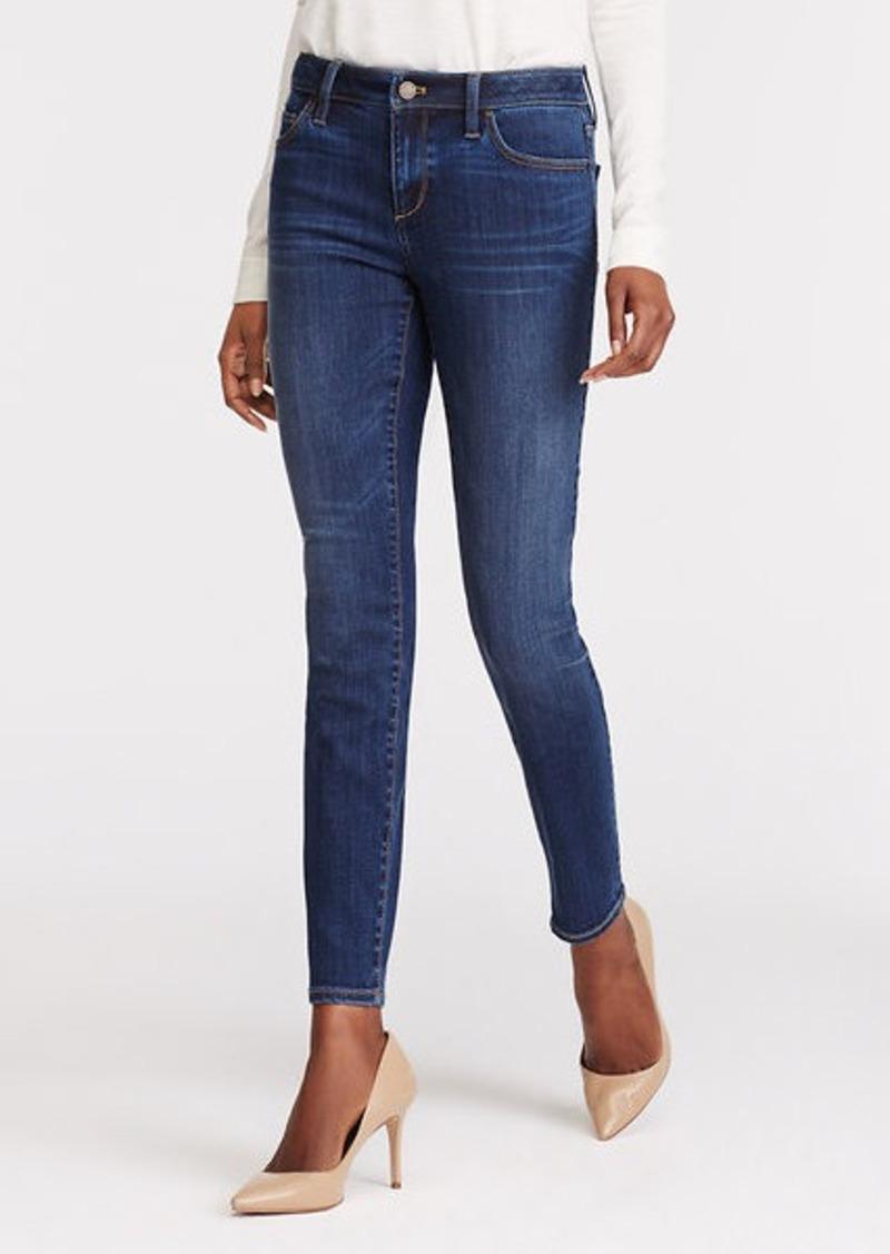 Ann Taylor Petite Curvy Skinny Ankle Jeans