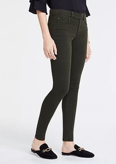 Ann Taylor Petite Curvy Skinny Jeans In Wild Moss Wash