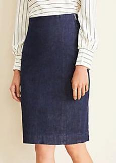 Ann Taylor Petite Denim Pencil Skirt