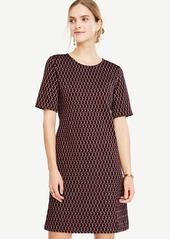 Ann Taylor Petite Diamond Knit Shift Dress