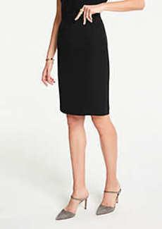 Ann Taylor Petite Doubleweave Skirt