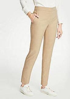 Ann Taylor Petite Elastic Back Ankle Pants