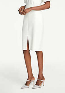 Ann Taylor Petite Front Slit Pencil Skirt