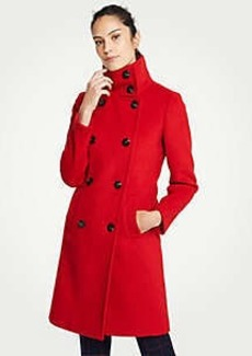Ann Taylor Petite Funnel Neck Coat