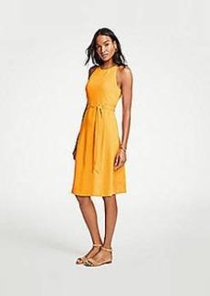 Ann Taylor Petite Halter Flare Dress