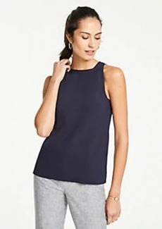 Ann Taylor Petite Halter Sweater Shell