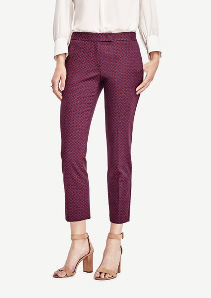 Ann Taylor Petite Kate Dot Everyday Ankle Pants