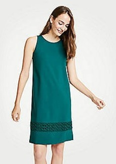 Ann Taylor Petite Lace Hem Tank Dress